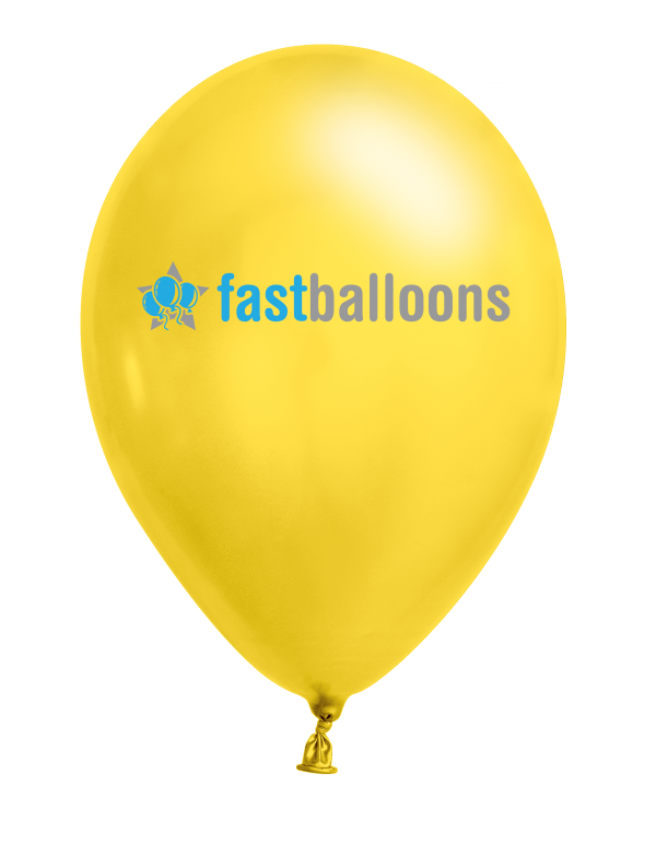 Bright Yellow Balloons