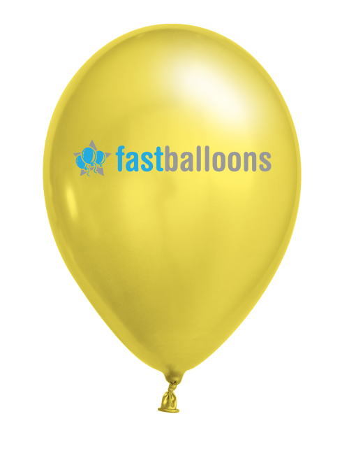 Canary Yellow Balloons
