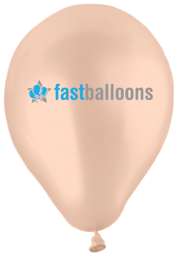 Pearl Apricot Balloons